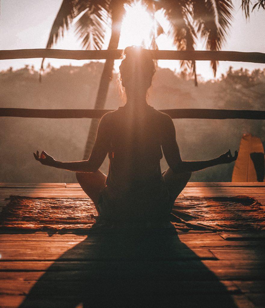 アトピー,瞑想